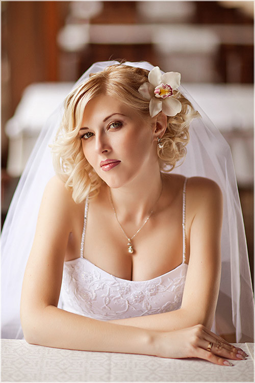 Wedding-hairstyles-romantic-curls Best Wedding Hairstyles for Short Hair
