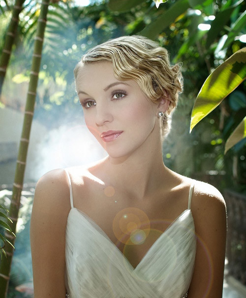 short-hair-for-a-wedding Best Wedding Hairstyles for Short Hair