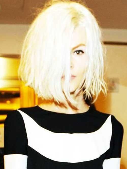 Blonde-Hair-1 Chic Blonde Bob Hairstyles for Women