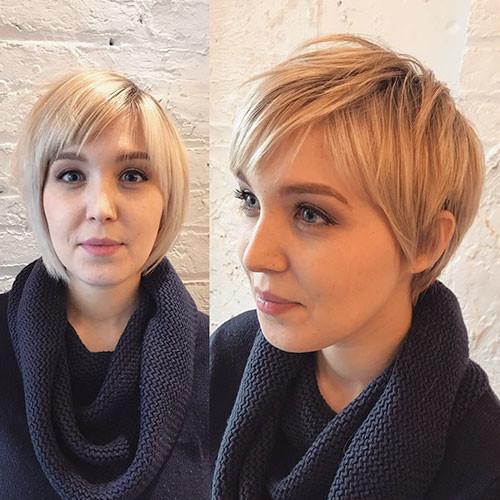 Blonde-Pixie-Hair Best Short Pixie Hairstyles 2018