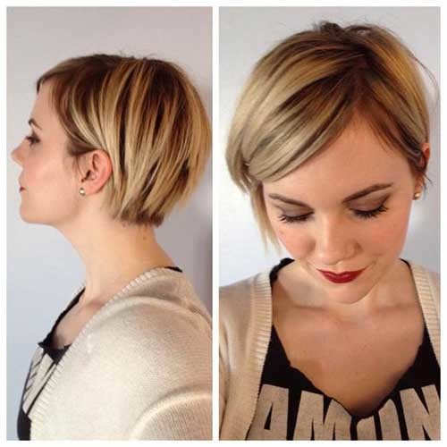 Cute-Short-Hair Best Short Bob Haircuts for Women