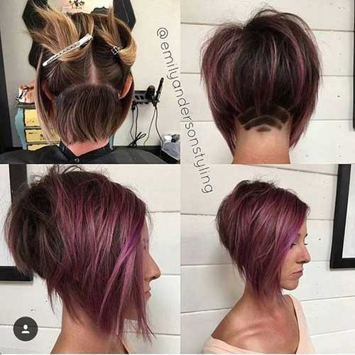 Dark-Brown-Short-Bob Best Short Bob Haircuts for Women
