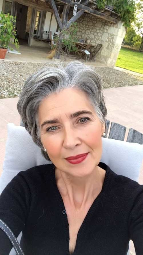 Classy Pixie Haircuts For Older Women The Undercut