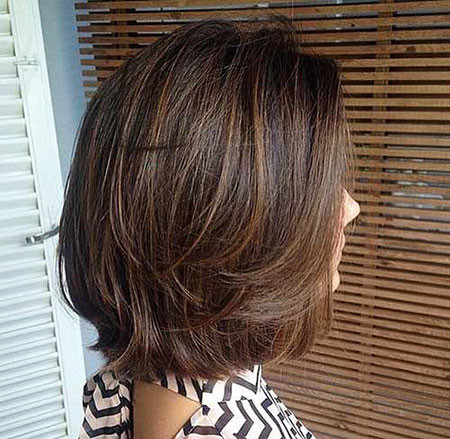 Layered-Long-Bob Short Layered Haircuts