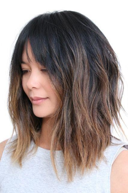 Long-Choppy-Bob-with-Bangs-www.sexvcl.net-004 Bob Hairstyles for 2018