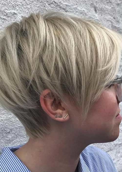 Longer-Pixie-1 Latest Short Hairstyles with Fine Hair