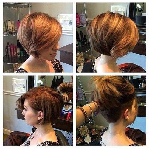 Short-Bob-Hair-Undercut Best Short Bob Haircuts for Women