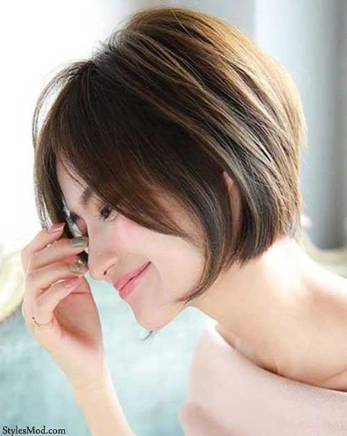 Short-Bob-for-Fine-Hair Best Short Bob Haircuts for Women