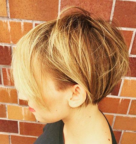 Short-Cropped-Messy-Bob Short Messy Haircuts