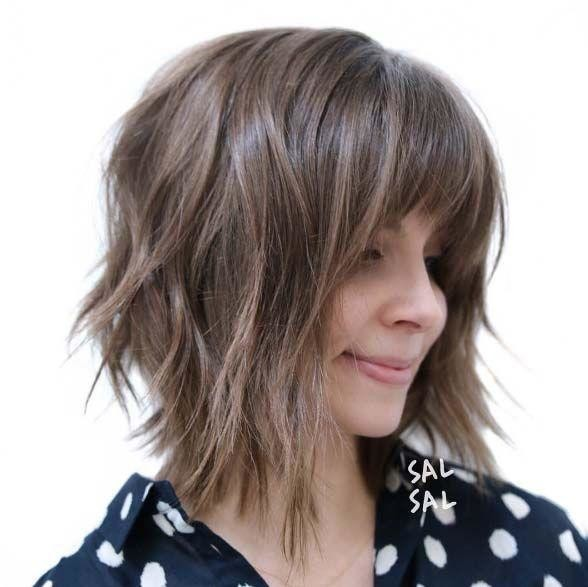 Shoulder-length-Bob-with-Layers-www.sexvcl.net-005 Bob Hairstyles for 2018