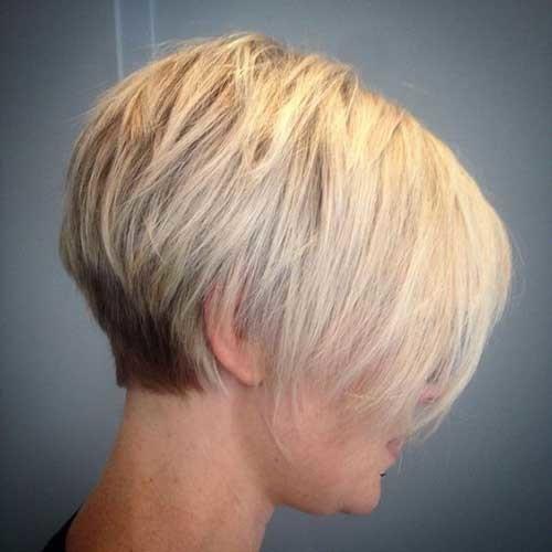 Very-Short-Bob-Haircut-for-Fine-Hair Latest Short Hairstyles with Fine Hair
