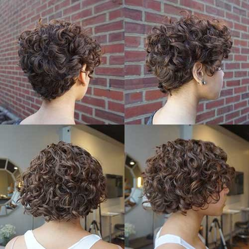 2018-Haircut-for-Curly-Hair Best Short Haircuts for 2018-2019