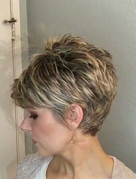 42-Pixie-Haircuts-for-Over-50 Best Pixie Haircuts for Over 50 2018 – 2019