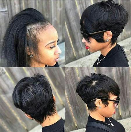 50-Short-Pixie-Hairstyles-for-Black-Women Best Short Pixie Hairstyles for Black Women 2018 – 2019