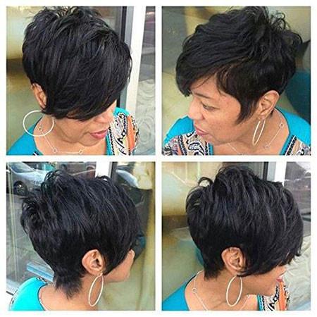 52-Short-Pixie-Hairstyles-for-Black-Women Best Short Pixie Hairstyles for Black Women 2018 – 2019