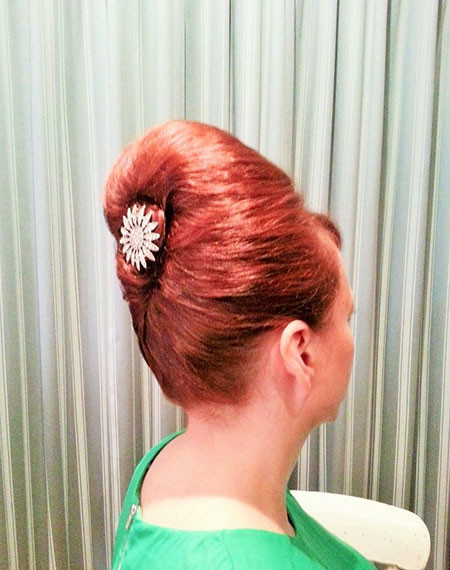 60's-Updo-Hair 1960's Short Hairstyles
