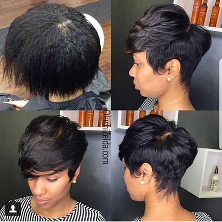 66-Short-Pixie-Hairstyles-for-Black-Women Best Short Pixie Hairstyles for Black Women 2018 – 2019