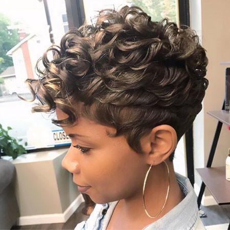 67-Short-Pixie-Hairstyles-for-Black-Women Best Short Pixie Hairstyles for Black Women 2018 – 2019