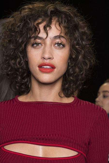 78-Short-Curly-Hairstyles-2019 Popular Short Curly Hairstyles 2018 – 2019
