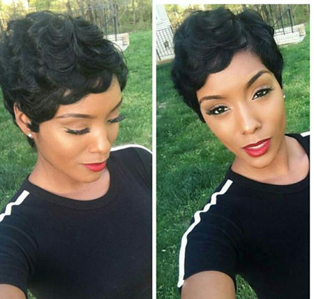 80-Short-Pixie-Hairstyles-for-Black-Women Best Short Pixie Hairstyles for Black Women 2018 – 2019