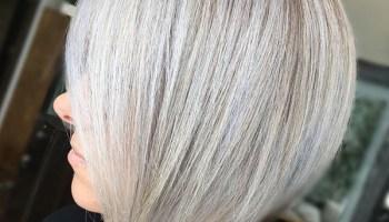 Ash-Blonde-Short-Straight-Hair 15 SEXY BOB HAIRSTYLES FOR BLACK WOMEN