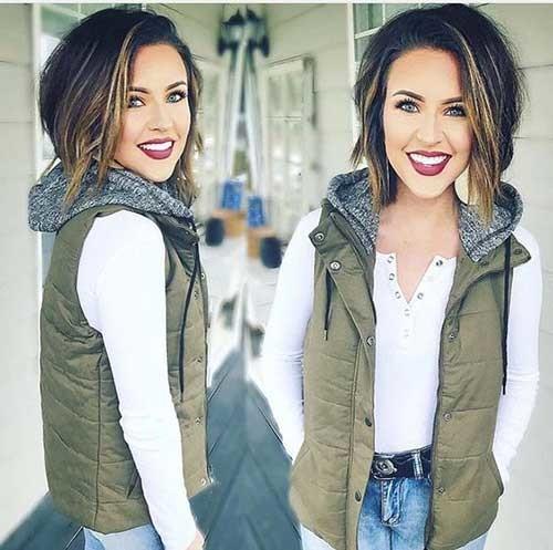 Asymmetric-Short-Hair Outstanding Short Haircuts for Women