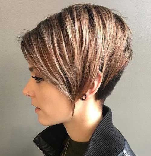 Asymmetrical-Pixie-Haircut Best Short Haircuts for 2018-2019