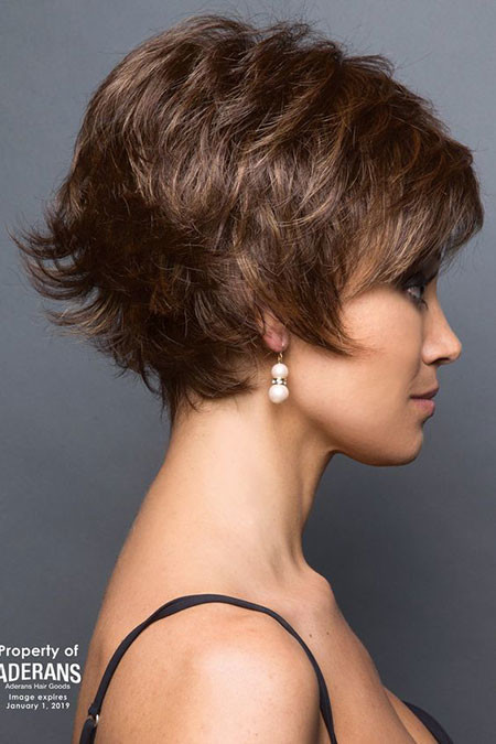 Brown-Pixie Best Pixie Haircuts for Over 50 2018 – 2019