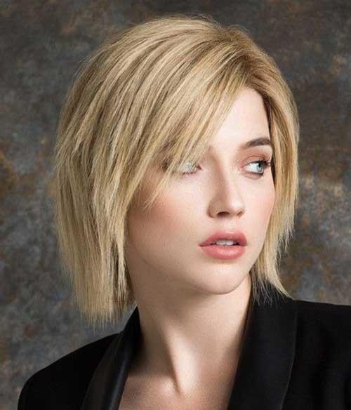 Choppy-Layered-Bob Best Short Haircuts for 2018-2019