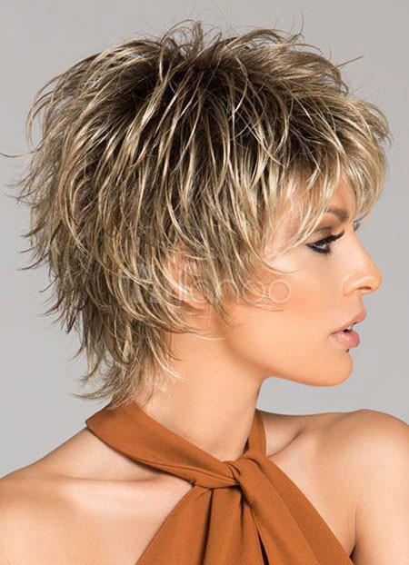 Choppy-Pixie-Haircut Best Pixie Haircuts for Over 50 2018 – 2019