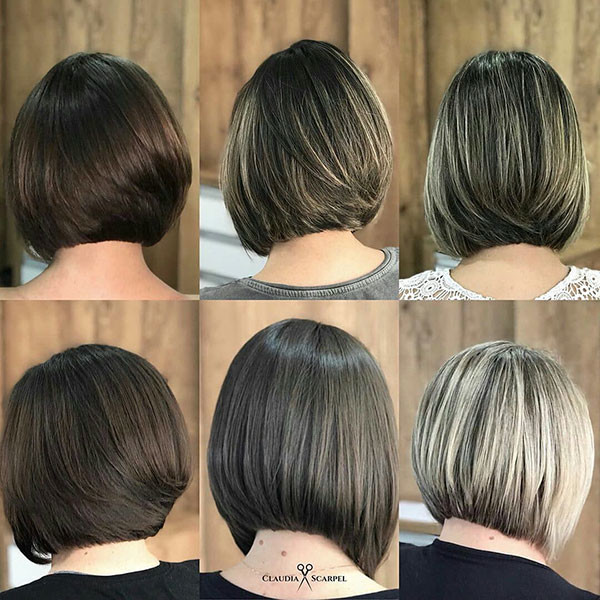 Classic-Short-Bob-Haircut Best New Bob Hairstyles 2019