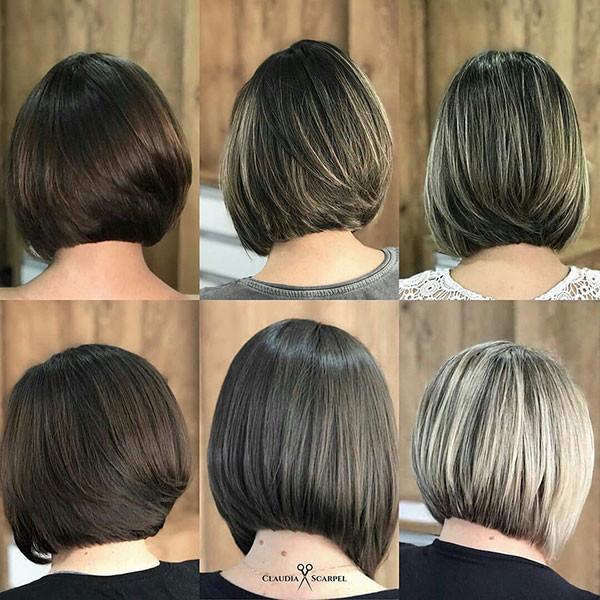 Classic-Short-Bob-Haircut Best New Bob Hairstyles 2019