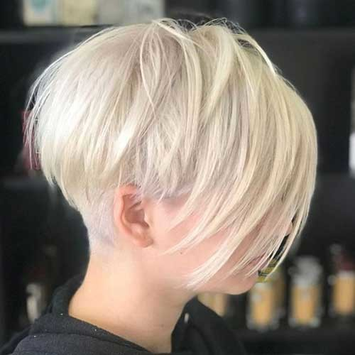 Cool-Blonde-Hair-Color Best Short Haircuts for 2018-2019