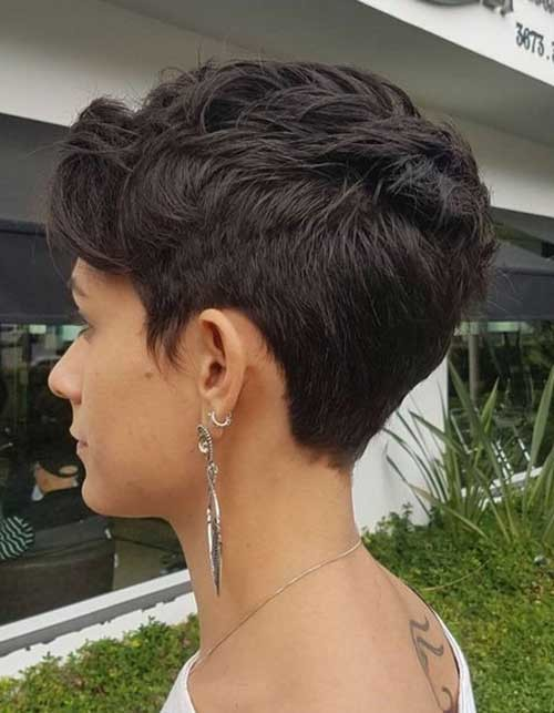 Cute-Easy-Short-Pixie-Cut Best Short Haircuts for 2018-2019