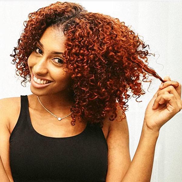 Cute-Short-Curly-Hair-1 Short Haircuts for Black Women 2019