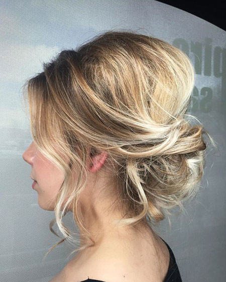 Cute-Up-Style Wedding Hairstyles for Short Hair