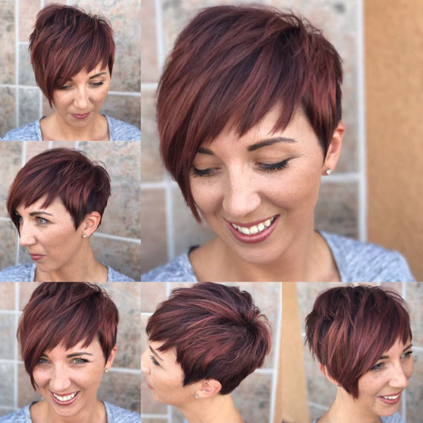 Layered-Pixie-Cut Best Pixie Cut 2019