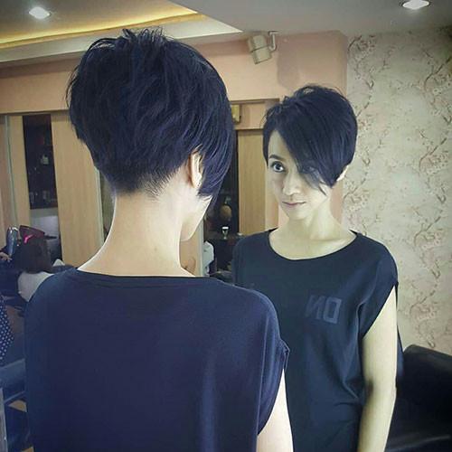 Layered-Undercut-Pixie-Hair Short Layered Haircuts 2018 – 2019