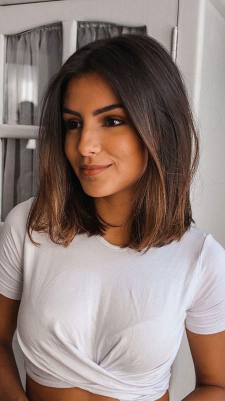Long-Bob-Hairstyle Popular Short Haircuts 2018 – 2019