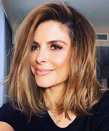 Medium-Short-Haircut Trendy Short Hairstyles 2019