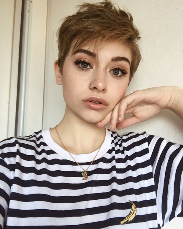 Messy-Pixie-Haircuts Best Pixie Cut 2019