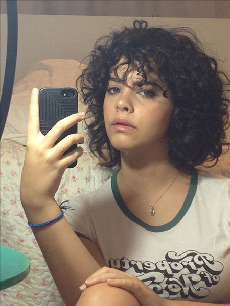 Natural-Layered-Curly-Hair Popular Short Curly Hairstyles 2018 – 2019
