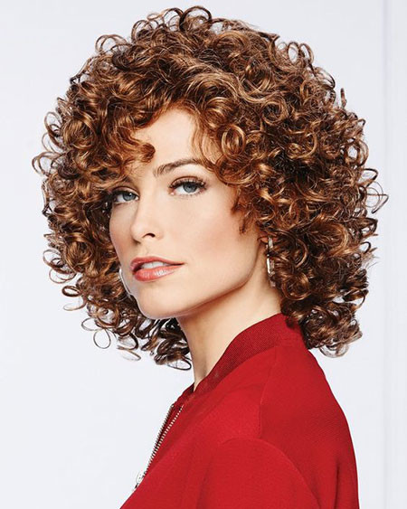 Naturally-Curly-Hair Popular Short Curly Hairstyles 2018 – 2019