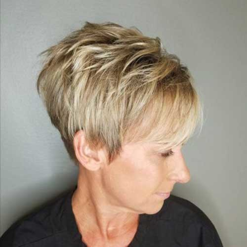 Older-Women-Hair-Cut Charming Stacked Short Haircuts for Women