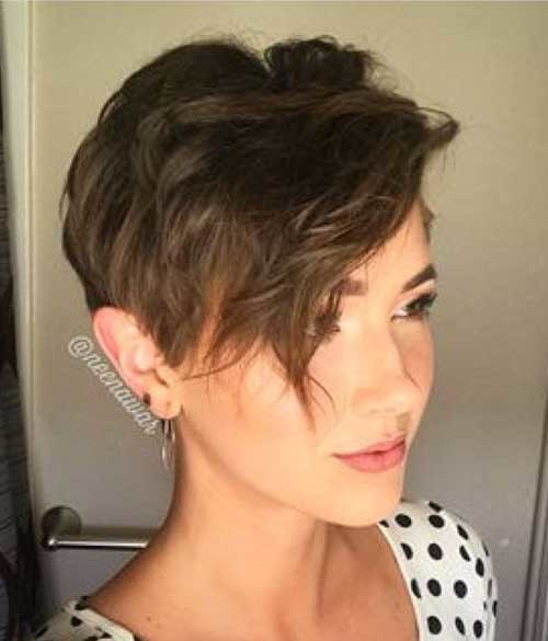 Pixie-Style-Bangs Best Short Haircuts for 2018-2019