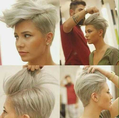 Pixie-for-Thick-Hair Outstanding Short Haircuts for Women