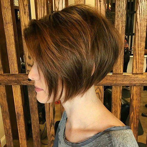 Short-Balayage-Hair Short Layered Haircuts 2018 – 2019