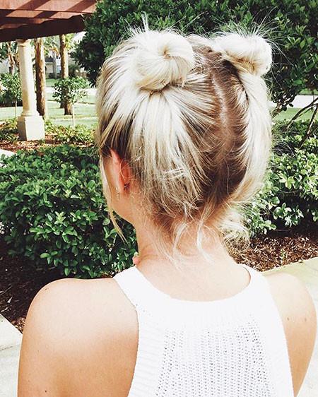 Short-Hair-Buns Hair Buns for Short Hair