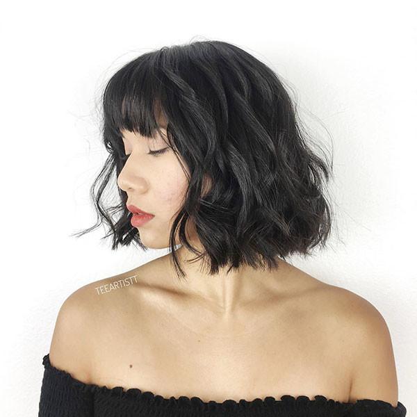 Short-Haircut Short Hairstyles with Bangs 2019