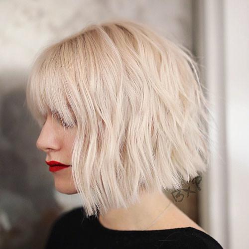 Short-Layered-Blonde-Hair Short Layered Haircuts 2018 – 2019